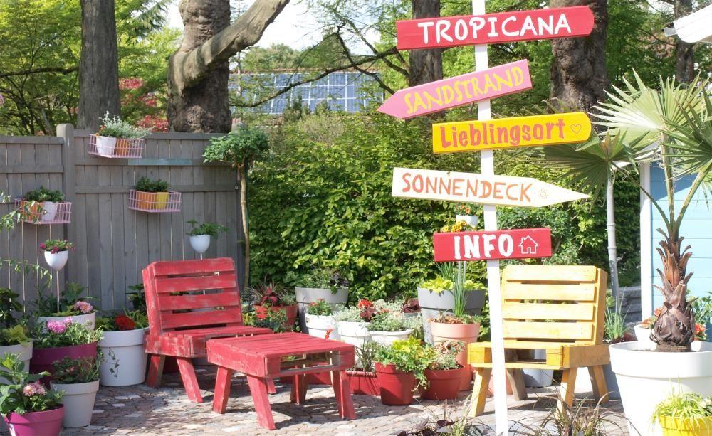 Ein Topfgarten Voller Ideen Topfgarten Garten Gartendekoration