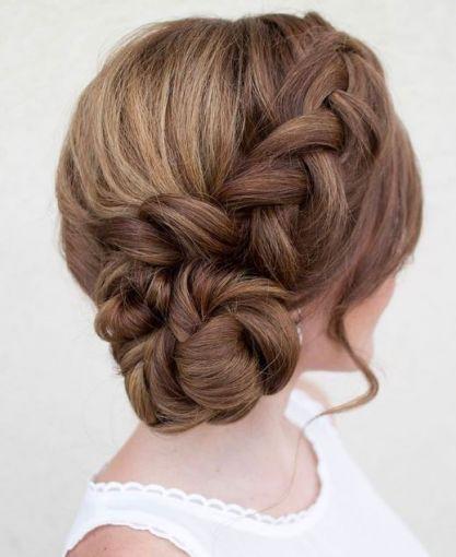 Aquí algunas opciones para usar el día de tu boda #Hair #HairDo #Bridal #Bride #Wedding #Hairstyle