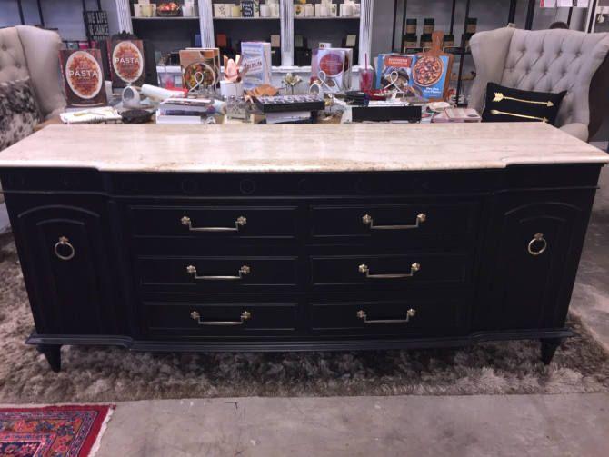 Black Marble Top Dresser By Stylishpatina From Stylish Patina Of Falls Church Va Fairfax Va Attic Marble Top Dresser Black Marble Marble Top