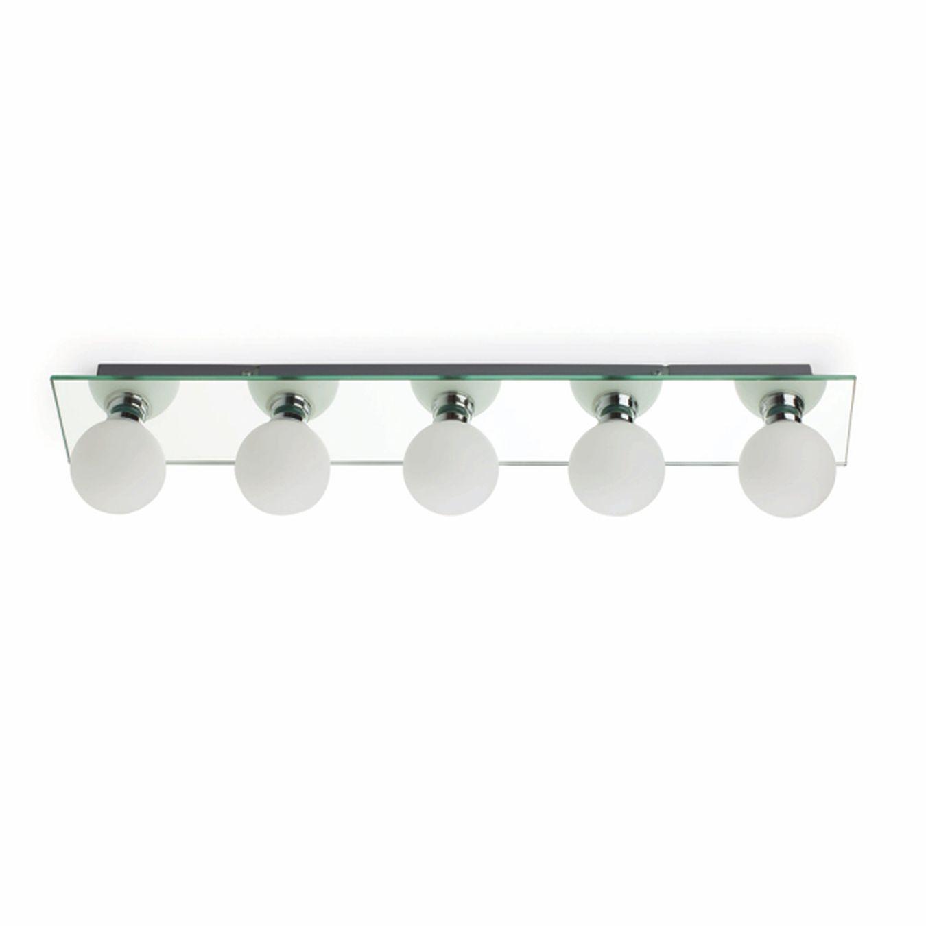 Lamparas De Baño | Lampara Para Espejo De Bano 5 Luces Iluminacion Lamparas
