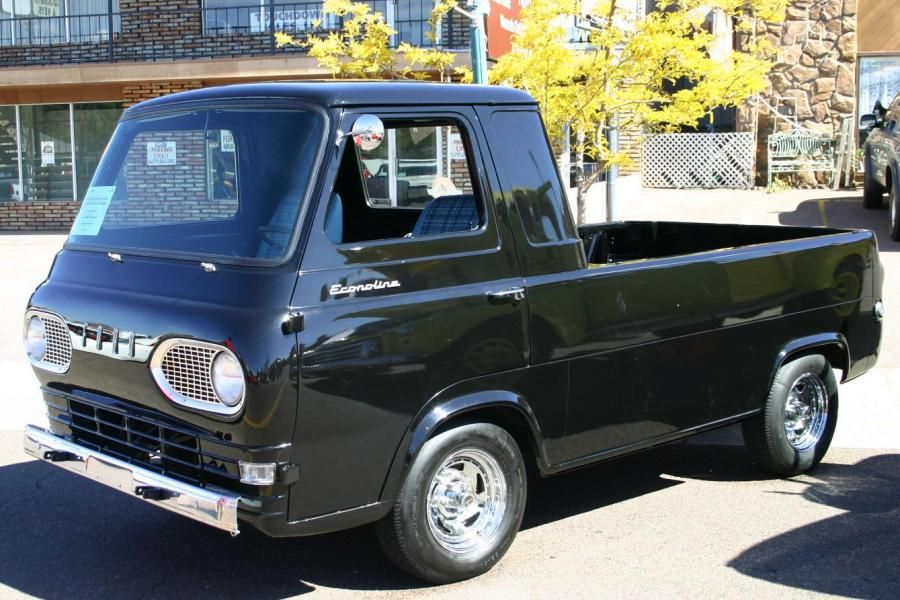 1961 Ford Econoline Pickup Truck Maintenance Restoration Of Old Vintage Vehicles The Material