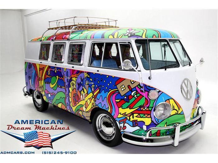 Vintage Vw Hippy Chic Vintage Vw Bus Volkswagen Volkswagen Bus