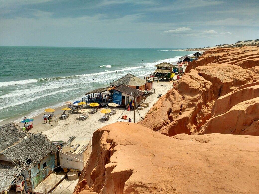 Praia de Canoa Quebrada. Canoa Quebrada - CE