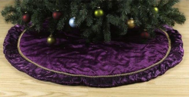 Purple christmas tree skirt | Pictures Reference - Purple Christmas Tree Skirt Pictures Reference Purple Christmas