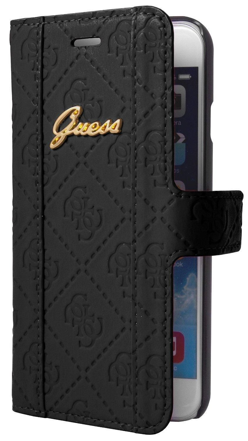 quality design df14b d971d Guess Scarlett Folio Case for iPhone 6 (S) Plus - Black | Guess in ...