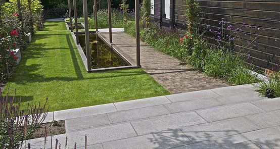 Plaatje eigen tuin idee garten verbundsteine