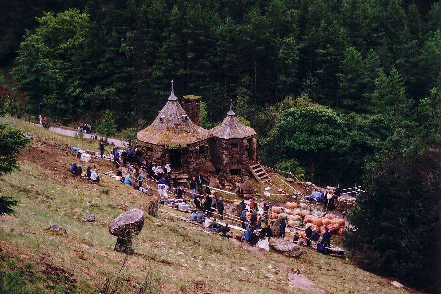 Harry Potter Filming On Location In Glencoe Glencoe Scotland Hagrids Hut Harry Potter Glencoe Scotland
