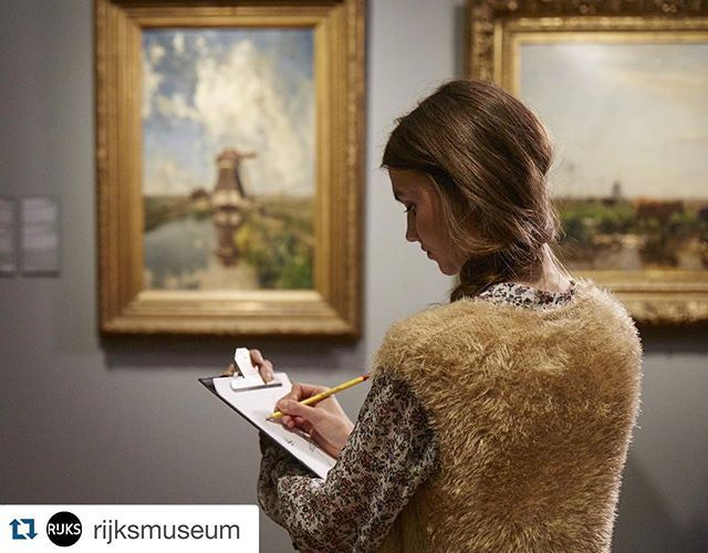 #Repost @rijksmuseum with @repostapp. ・・・ On Saturday October 24th the Rijksmuseum launches the extensive campaign #startdrawing. The Rijksmuseum invites everybody to start drawing in the galleries of the museum. In this way, you get a closer look at the beauty of art. Part of the campaign is the international drawing festival The Big Draw on October 24th and 25th in the Rijksmuseum. On these days, the Rijksmuseum organises various free drawing activities.  Which artwork inspires you to…