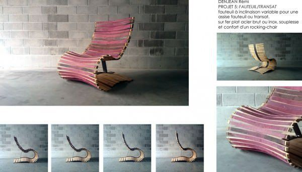 Design Furniture's and Objects Made from Recycled Wine Barrel Staves