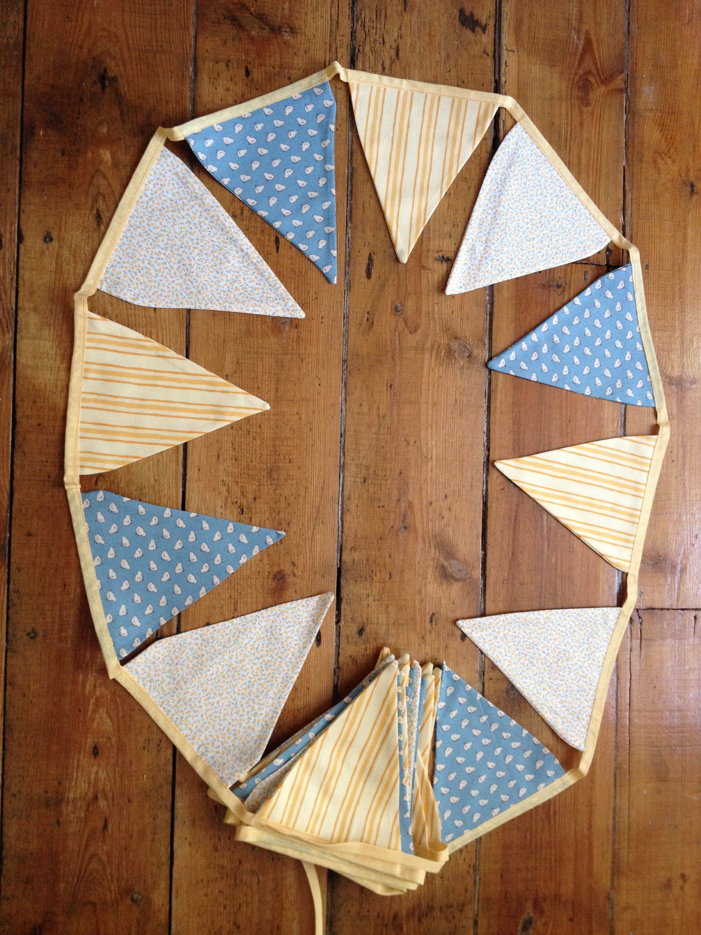 Easter 2014 bunting - my first commissioned piece