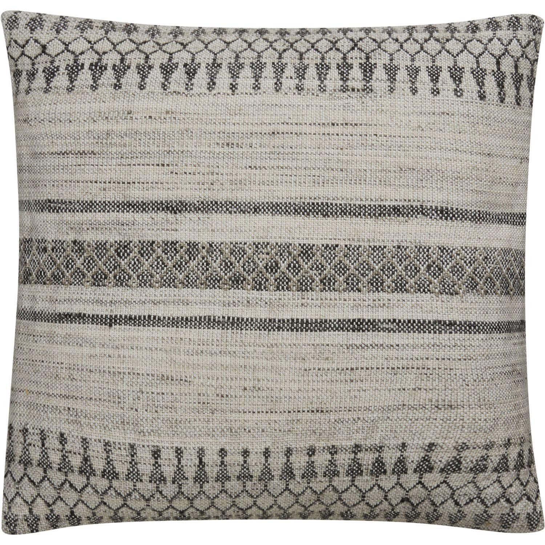Tribal pattern ivorygray rayon from bamboo green wool u viscose