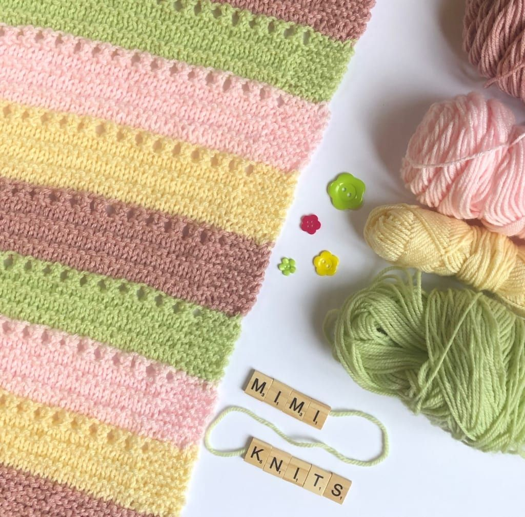 knitting blog baby blanket knitting pattern