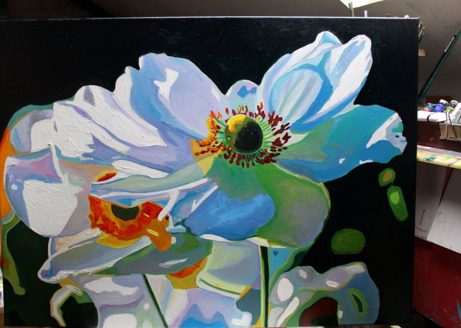 Windswept flowers oil and paintings buy windswept flowers oil painting by emma cownie on artfinder discover thousands of other original paintings prints sculptures and photography from mightylinksfo