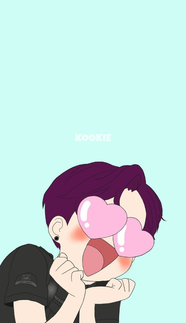 Bts Cute Fanart Funny Kpop Wallpaper Jungkook Luv