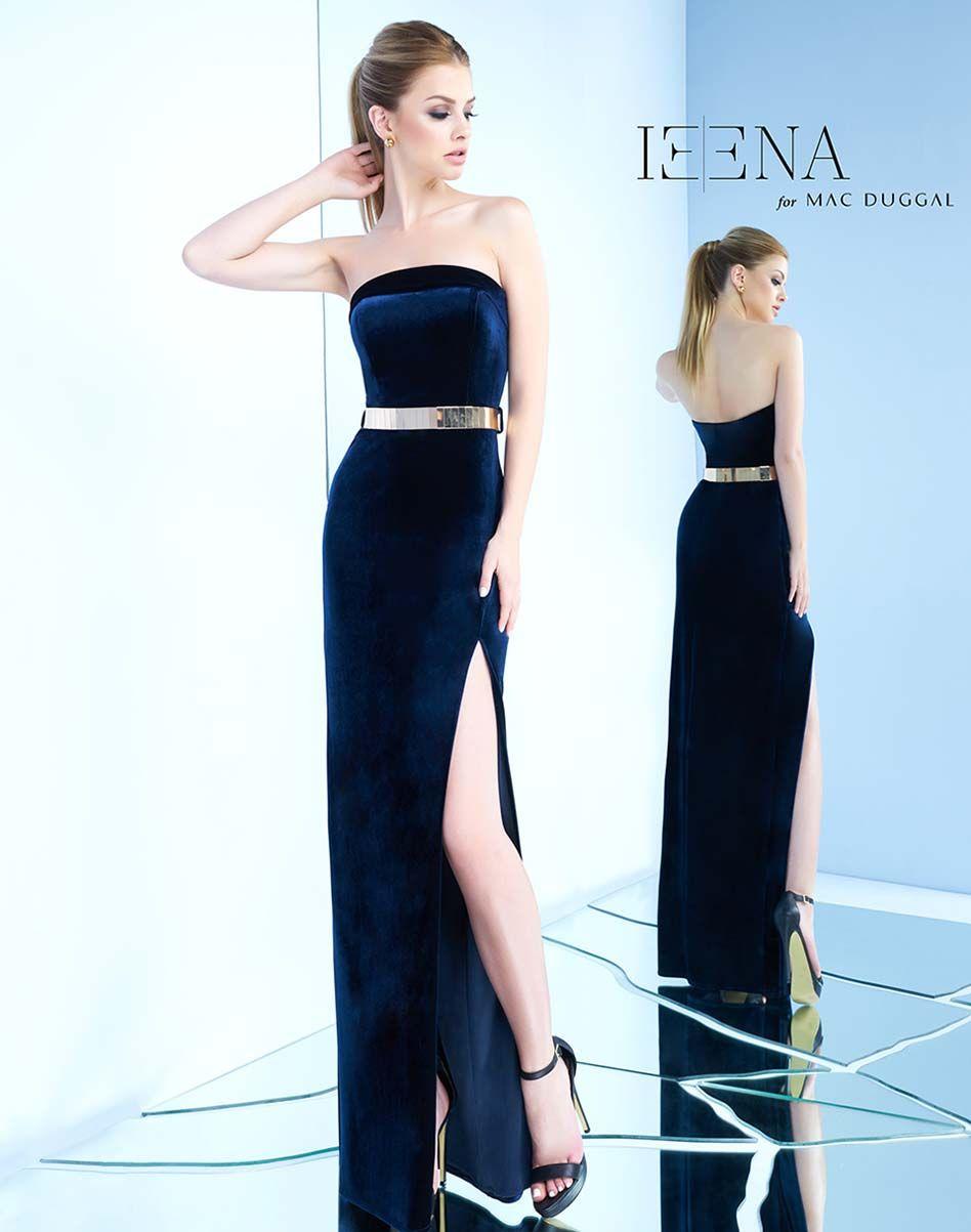 2f061d7248 Velvet column gown