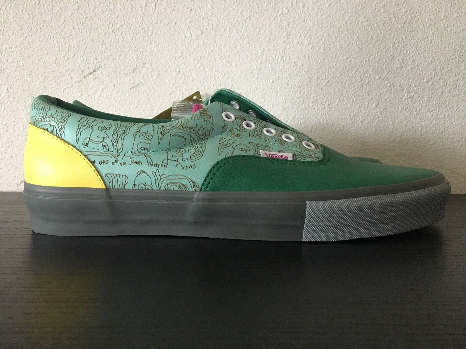 Vans Era Lx Gary Panter Simpsons Movie 12 Ds In Box 1 Of 100 2007 The Simpsons Movie Vans Simpson