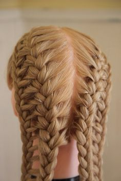 French Ladder Braid Tutorial • Free tutorial with pictures on how to style a French braid in under 20 minutes