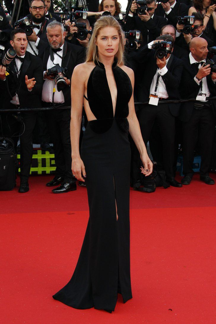 Pin for Later: Seht all' die traumhaften Roben beim Filmfest in Cannes Tag 1: Doutzen Kroes