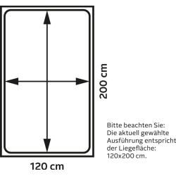 Lonni Boxspringbett inklusive Led Beleuchtung, Material Kunstleder - 180 x 200 cm Möbel-EinsMöbel-Ei #idéesdemeubles