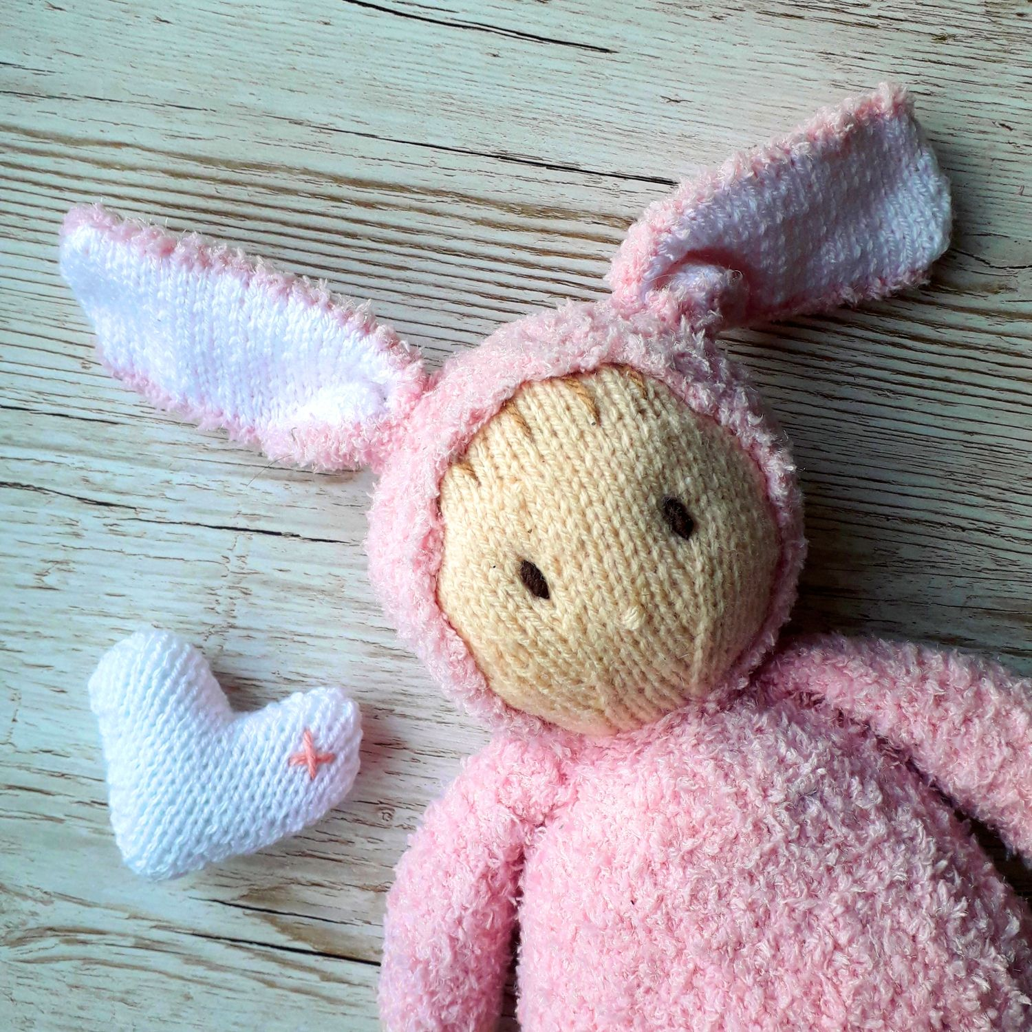 Teddy Bear Jo-Jo Doll Knitting Pattern