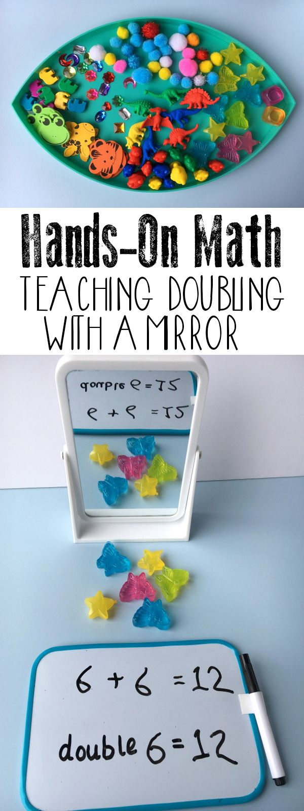 Hands-on Math ~ Teaching Doubling | Math differentiation | Pinterest ...