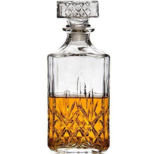 carafe whisky 900 ml en verre carafe whisky en verre pour une pr sentation et un. Black Bedroom Furniture Sets. Home Design Ideas
