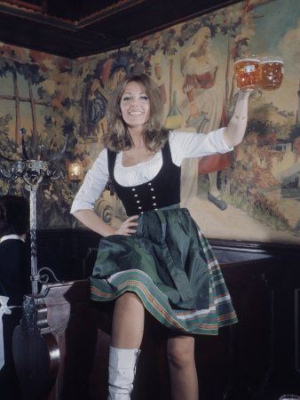 Ingrid Pitt As Heidi During The Filming Of The Movie Where Eagles | Ingrid,  Fine girls, Movie stars