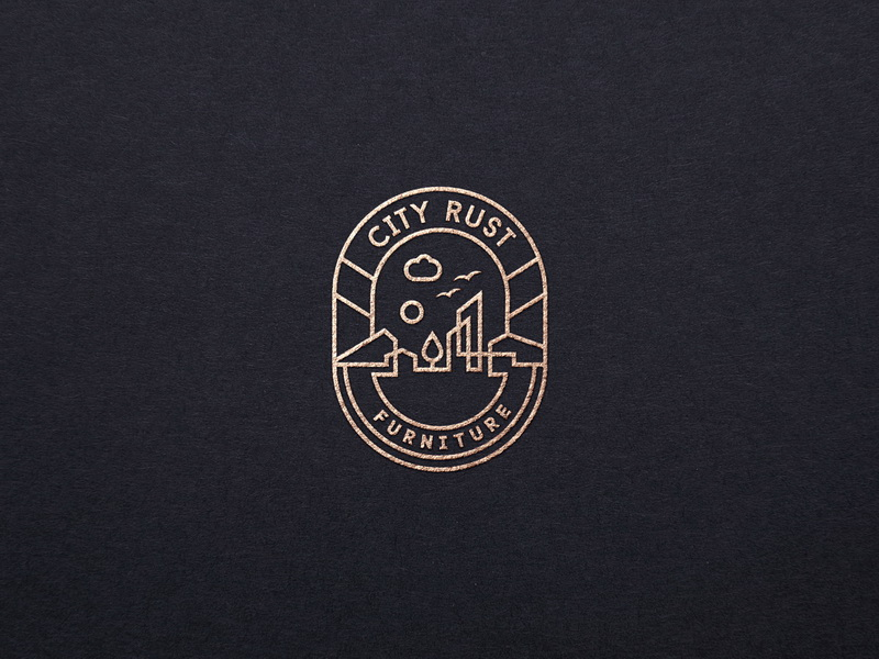 City Rust City Logos Design Trendy Logo Design Vintage Logo Design
