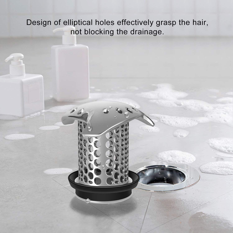 Amazon Com Lekeye Drain Hair Catcher Tub Drain Cover Bathtub