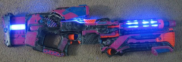Nerf Mods and Reviews: The Stryfly - Coop772's Modified Stryfe