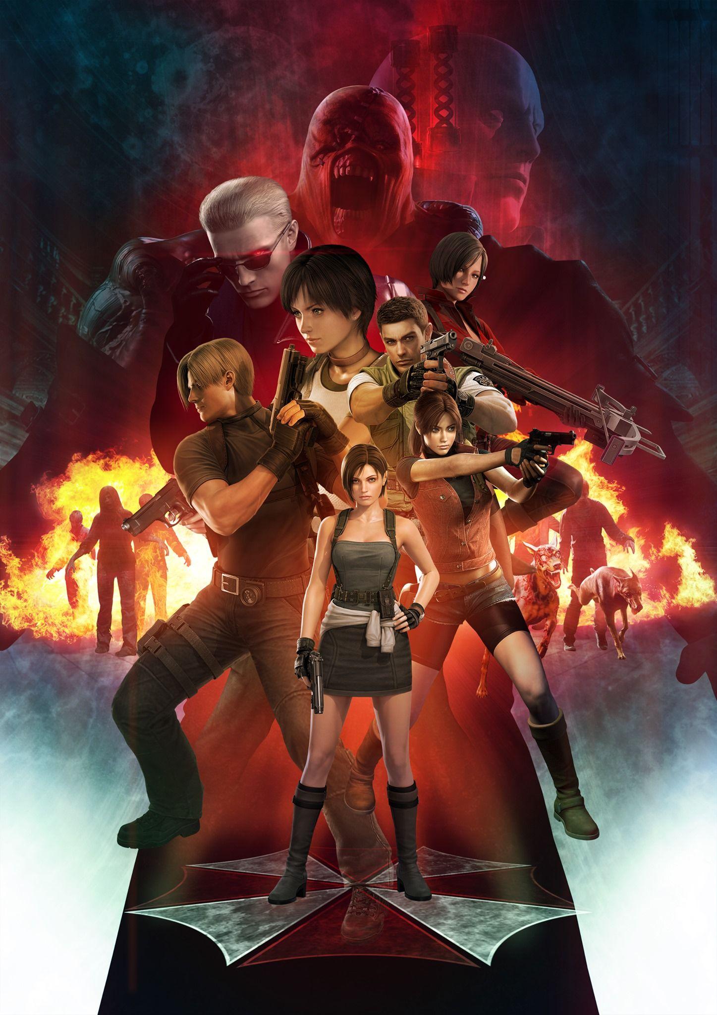 Resident Evil 3 Remake Teased Again By Capcom Resident Evil Girl