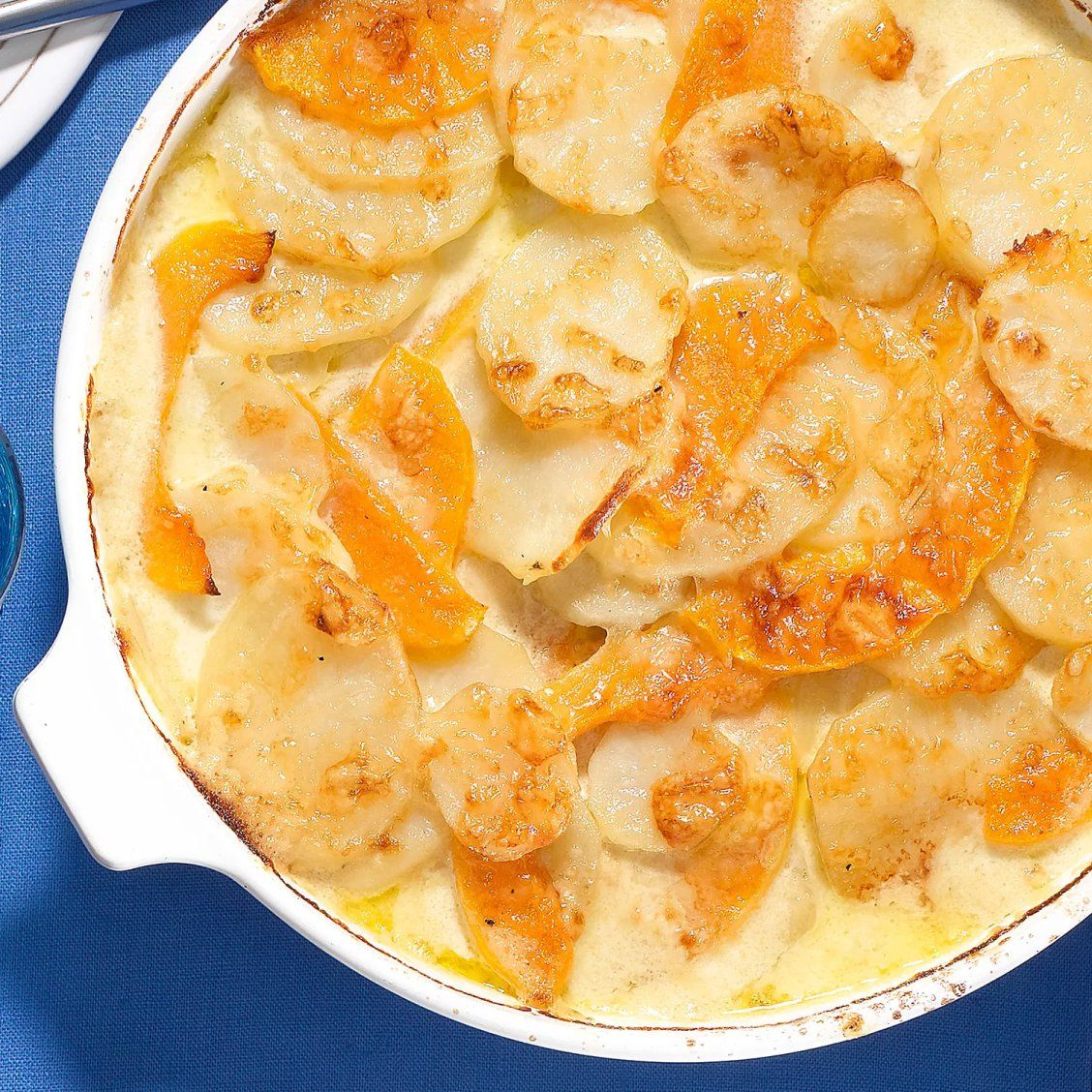 Scalloped Potatoes & Butternut Squash