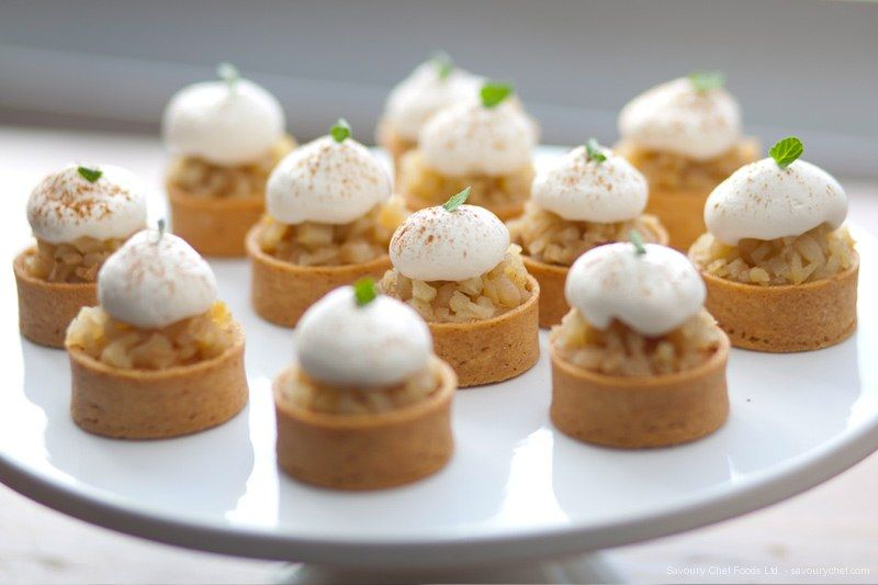 Vancouver catering savoury chef foods ltd poached for Canape desserts