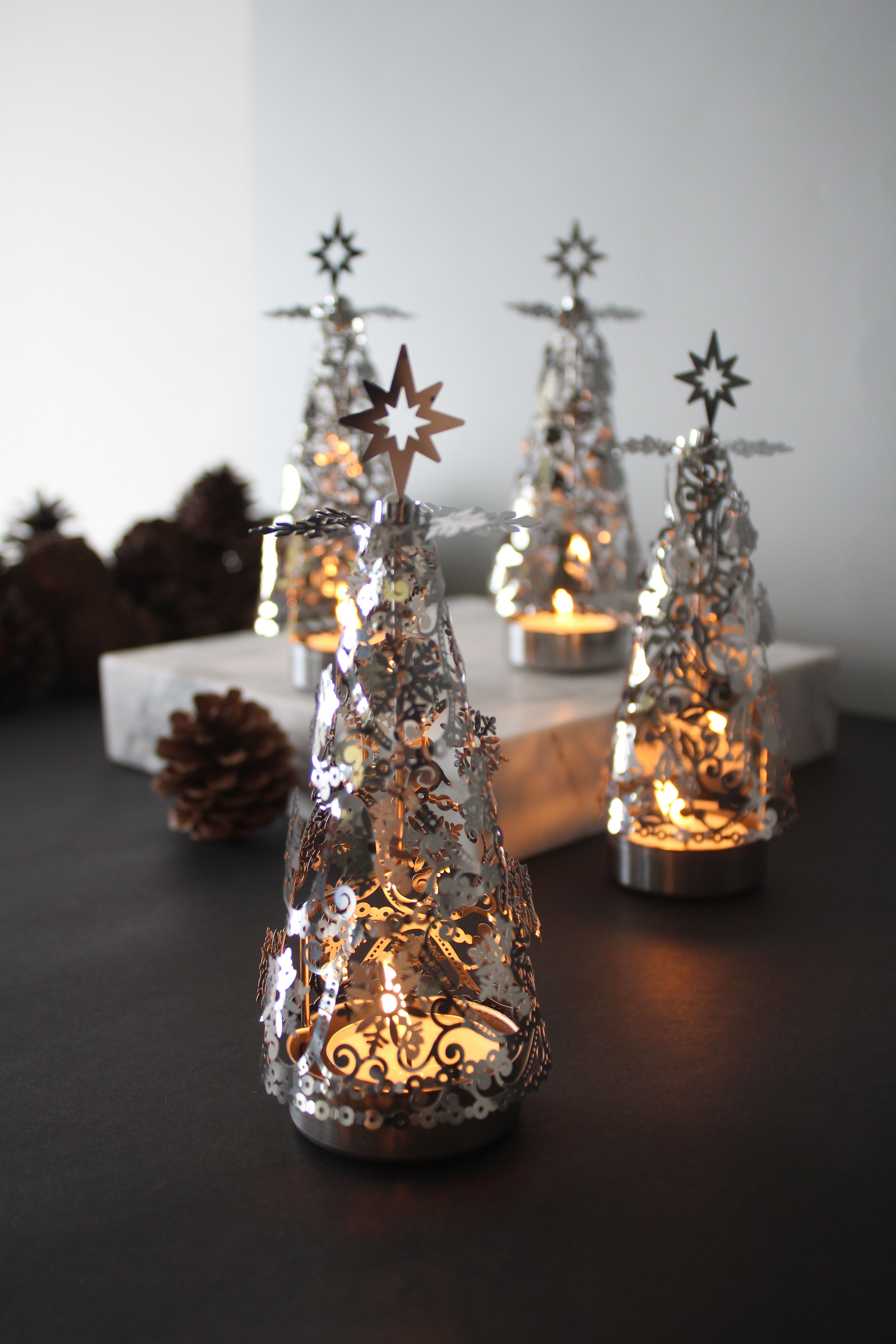 Stainless Steel - Christmas Tree Rotary