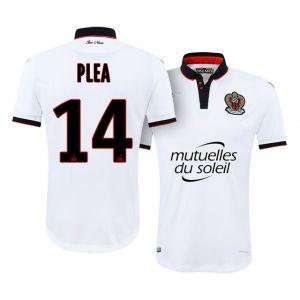 640aa8b3b 16-17 OGC Nice Cheap Away  14 Plea Replica Football Shirt  I00748 ...