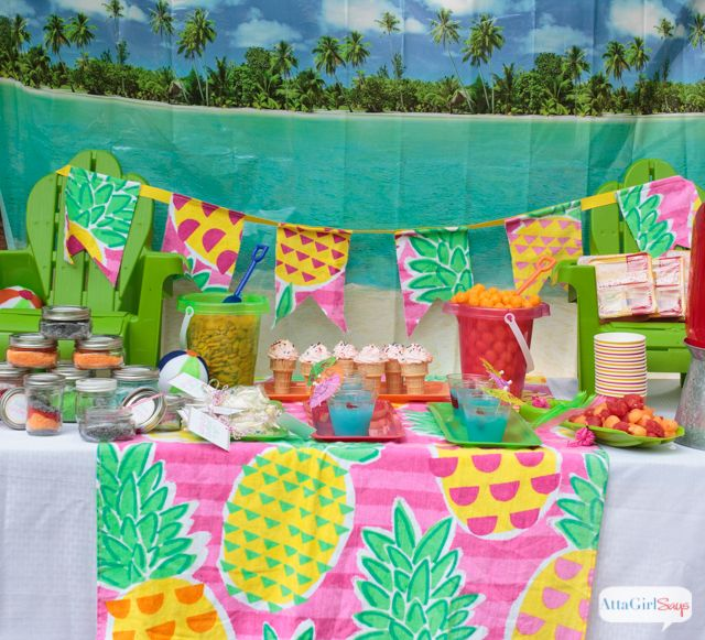 Beach Theme Birthday Party Ideas With Images Beach Theme
