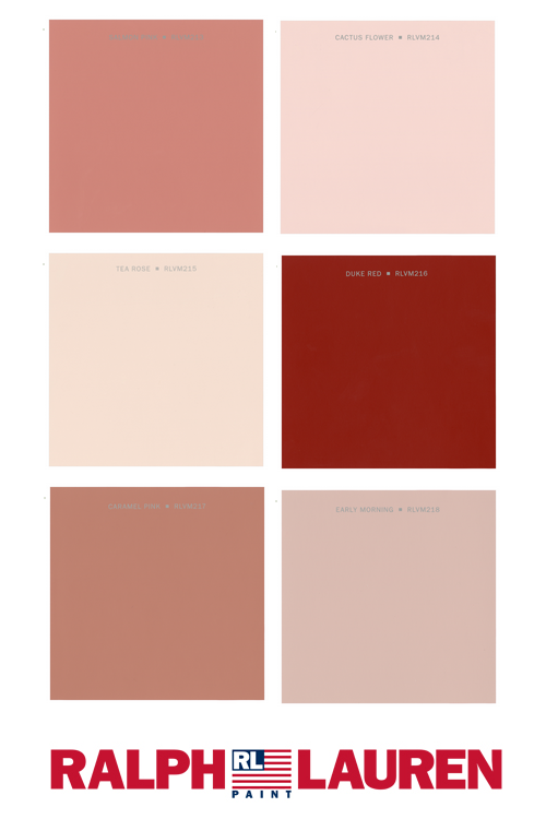 Paint Shades Such As Apricot Peach
