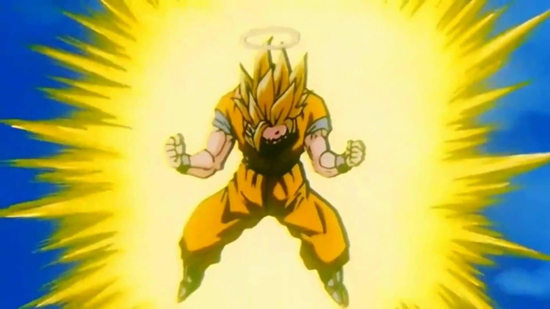 Goku Goes Super Saiyan 3 Remastered Hd 1080p Goku Goes Super Saiyan Goku Super Saiyan