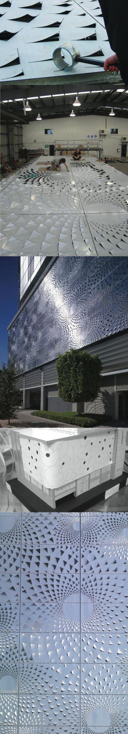 Beee3bf793d4b5e586e75521e44611c0 Jpg 428 2 440 Pixels Cladding Design Facade Design Metal Facade