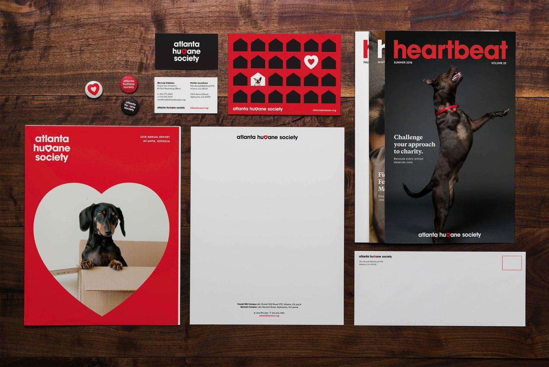 Atlanta Humane Society Branding Case Study Matchstic Typography Branding Humane Society Logo Humane Society