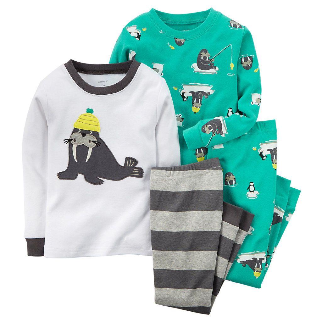 Carter S Toddler Boy Pajama Set Any Pajamas Size 4t