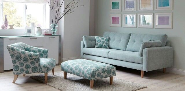 Fabric Sofa Modern Designs, Dfs Sofa Duck Egg Blue
