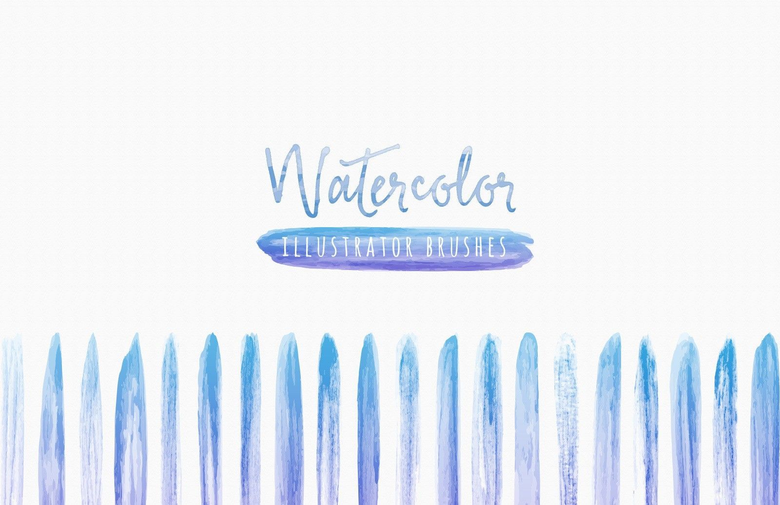 Watercolor Brushes For Illustrator Illustration Vector Brush