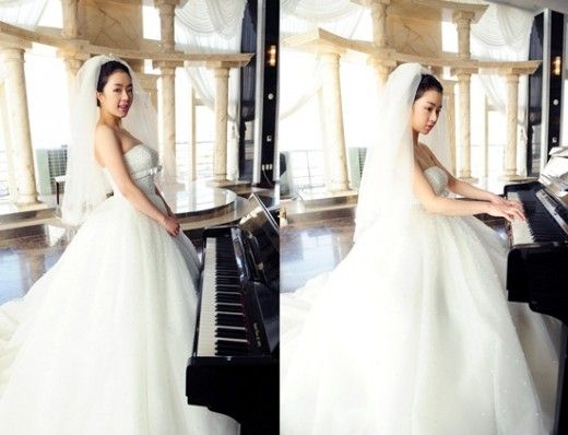 Seo Woo Looking Gorgeous In A Wedding Dress For When Tomorrow Comes