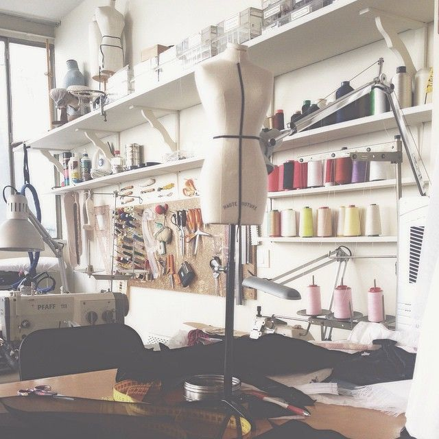Sewing Rooms, Work Hard, Amazing, Mini, Sewing School, Paris Fashion, High  Fashion, Alice, Spaces