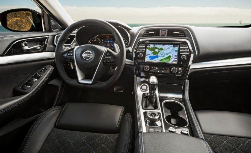 2016 Nissan Maxima Sr Car Interior Picture Sedan Carpictures Carsnbike
