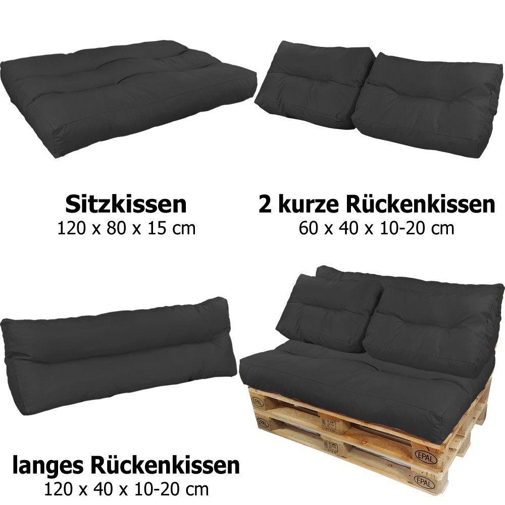 Palettenkissen Lounge Sitzkissen Wasserabweisende Paletten Auflage
