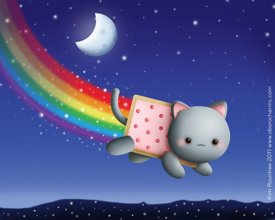 Resultados De La Busqueda De Imagenes Nyan Cat Yahoo Search Nyan Cat Empapelado De Gato Posters De Gatos