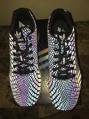 separation shoes da843 dc57d Adidas Zx Flux Xeno Reflective Limited 3M Brand New Size 8.5 ...