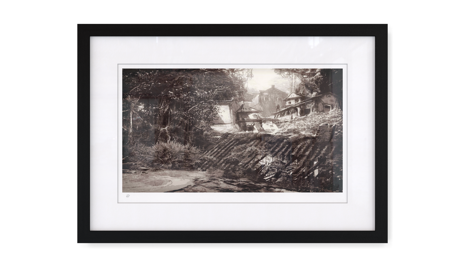 Artwork The Colony Uncharted 4 Naughty Dog Dog Artist Uncharted Artwork